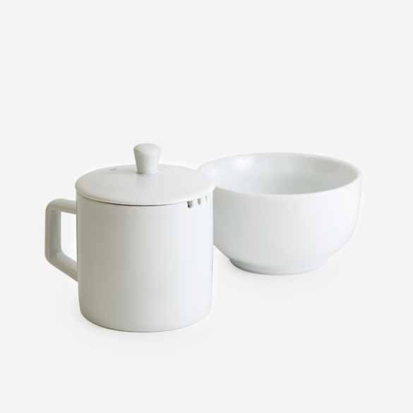 Porcelain Tea Cupping Set