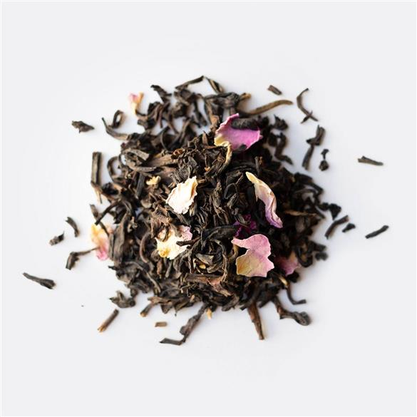 Rose-scented Dianhong Black Tea